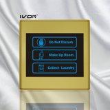 Painel interno do sistema do Doorbell do hotel no frame plástico do esboço (SK-dB2300SIN2-S)