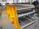 Machine de asséchage de lavage d'écran de vibration de sable/de minerai fer d'or