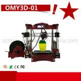 Impresora de escritorio 3D de DIY de la máquina de la fábrica (OMY01)