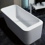 Bañera libre de piedra superficial sólida con la aprobación de Cupc (PB1046)