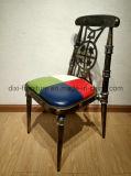 Stapelbarer Hall-Stuhl mit Eisen-Rahmen-Stuhl