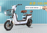 Señora eléctrica Bike, bici eléctrica elegante del uso de la familia con el asiento del niño