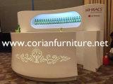 Corian Ice White Intérieur sans soudure personnalisée Shop Shop