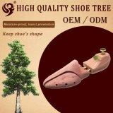 Ensanchador normal del zapato de la venta al por mayor de la fábrica de los tubos del cedro dos del diseño, árbol del zapato