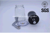Manual del grano de café de cristal Molinillo de café