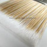 Качество сплющило комплект щетки краски нити с черным пластичным изготовлением Китая ручки