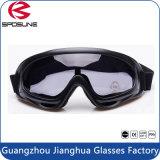 Espuma que acolchoa óculos de proteção Windproof baratos da motocicleta e óculos de proteção do Snowboard do esqui