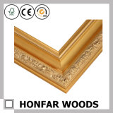 Естественная картинная рамка древесины сосенки для подарка