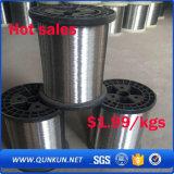 alambre de acero inoxidable 316L de 0.015m m para la venta