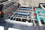 Gk-1080t Máquina de remendo de janela de caixa de tecido de qualidade com dispositivo de corte