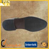 Schwarze echtes Leder Goodyear leichte Militärbüro-Schuhe