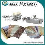 Scheda di marmo decorativa del PVC che rende a macchina/PVC la linea di produzione di marmo d'imitazione dello strato