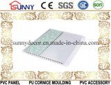 Comitato di parete della decorazione del comitato di soffitto del comitato del PVC (stampa normale, timbratura calda, laminazione)