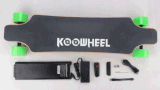 Doppelrad-elektrisches Skateboard des naben-Motor4 mit entfernt