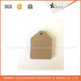 Tag feito sob encomenda do cair da impressão dos Tag da impressão da etiqueta de pano do papel do ofício