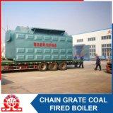 Chaudière à eau chaude au charbon pour le projet Columbia