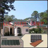屋根ふきのための石造りの上塗を施してある金属の屋根ふきか鋼鉄屋根または費用の標準的な屋根瓦の納屋の屋根ふきまたは材料か最もよい鋼鉄屋根ふきか費用