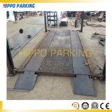 Qingdao 공장에서 판매를 위한 유압 2개의 층 간단한 4개의 포스트 차량 주차 상승