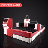 Machine de découpage de laser de fibre en métal PE-F500-3015 avec du ce