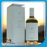 Caixa de empacotamento do vinho do cartão do presente magnético rígido luxuoso feito sob encomenda do fechamento