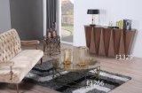 Table basse ronde de modèles modernes avec le dessus de marbre