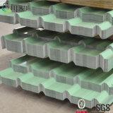 물결 모양 루핑은 그려진 색깔을%s 가진 강철판을 검술한다