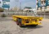 40 voeten 2 Aanhangwagen van de Container van de As Flatbed Semi