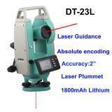 上向きレーザー指導のレーザーのセオドライトのデジタルセオドライト30X Dt23L