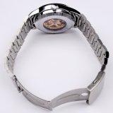 Reloj automático 10ATM de la marca de fábrica de encargo del acero inoxidable de la alta calidad de la manera impermeable