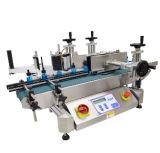 Máquina de rotulagem de dupla linha autoadhesiva integrada elétrica e mecânica