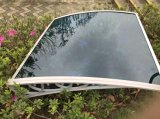 Custom Size Flexible Plastic Window Sunshade com 10 anos de garantia