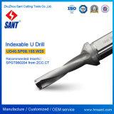 Gli strumenti Drilling Indexable U-Perforano Ud40. Sp06.155. W25 con l'inserto Spgt06 Spmg06 del carburo