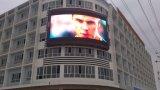정면 서비스 풀 컬러 P10 옥외 광고 발광 다이오드 표시 스크린