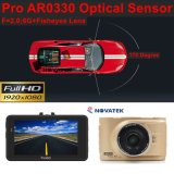 Câmera móvel DVR do carro cheio barato de 3.0inch HD1080p com a câmara de vídeo do carro 5.0mega, no traço DVR-3005
