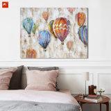 Balão de ar quente Handmade de Pianting do petróleo para a decoração