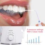 [فلوسّر] كهربائيّة أسنانيّة, [600مل] أسرة ماء أسنانيّة شفويّ [إيرّيغتور] انبثاق, بيضاء