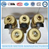 Contadores del agua de Kent en el material plástico y de cobre amarillo para la opción