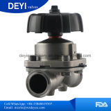 Válvula de diafragma manual do aço inoxidável de China