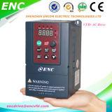 Enc 11kw conversor de frequência variável, VSD Vdf Vvvf unidade de frequência variável de corrente alternada para VFD de fase trifásica
