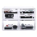 Boîte à bijoux en acrylique, écran de rangement cosmétique, boîtes en acrylique