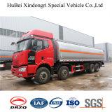 caminhão do depósito de gasolina do euro 4 de 28cbm FAW