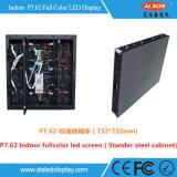 El panel de visualización de interior a todo color de LED de la instalación fija HD P3