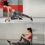 Moda Leggings do esporte Últimas calças de fitness Vestuário de ginástica Roupas de corrida para mulheres
