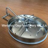 Coperchio di botola ellittico sanitario dell'acciaio inossidabile