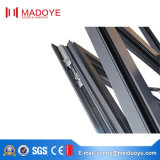 Finestra della stoffa per tendine di vetro Tempered della lega di alluminio