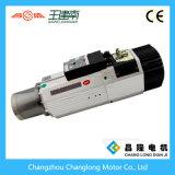мотор шпинделя изменения инструмента высокоскоростного охлаждения на воздухе 9kw автоматический для маршрутизатора CNC
