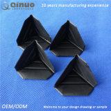 Protetor de canto quadrado do plástico 3-Sided do costume 50*50*50 milímetro de Qinuo