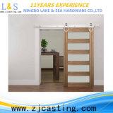 Fait dans les portes coulissantes en bois intérieures de la Chine