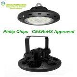 Luces profesionales de la bahía de la viruta 100W Ufd LED de Philips del fabricante de la lámpara CS-Gkd016 altas
