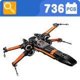 Stern-Krieg X-Flügel Kriegsflugzeug-Block-Spielzeug für Kinder